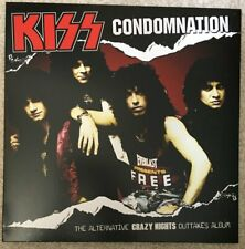 KISS - CRAZY NIGHTS OUT TAKES LP - CONDOMNATION - BRAND NEW PINK SPLATTER VINYL