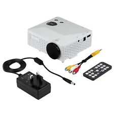 Portable Mini LED Projector with USB VGA HDMI AV Multimedia for Party Home BE