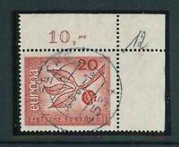 BRD Michel-Nr. 484 Ecke 2 - Eckrand - gestempelt