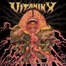 VITAMIN X - AGE OF PARANOIA   CD NEU