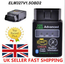 UK ELM327 OBD2 Advanced Bluetooth2.1 ODB2 OBDII Car Auto Diagnostic Scanner Tool