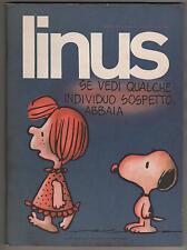 LINUS 6 anno XIV 1978 peanuts altan valentina crepax ugo bertotti 's frankestein