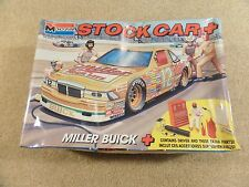 New 1990 Monogram 1:24 Scale Model Kit NASCAR Miller High Life Buick Regal #12