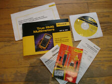 Fluke 187 Amp 189 Users Manuals Amp Cd