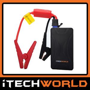 iTech Car Jump Starter Jumper Pack Start Battery Power Bank 10000mAh