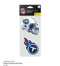Tennessee Titans 2 Sticker Helmet + Logo Decal Badge Emblem Nfl Football