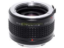 Minolta MD moltiplicatore di focale 2x Tokina Doubler RMC Tele Converter.
