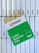 Polaroid Spectra Film: Color 1 Pack, Final Production Run, Rare!