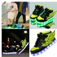 Chaussures Led Garçon Lumineuse Basket Led Garçon Fille - USB Rechargeable
