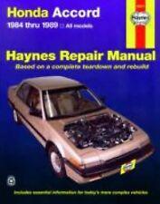 1984-1989 Haynes Honda Accord Repair Manual