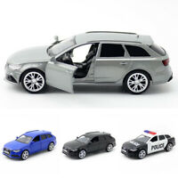 1:36 Audi RS 6 Avant Model Car Diecast Toy Vehicle Pull Back Kids Doors Open
