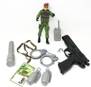 Army Toys Gifts Boys Combat Soldier Action Figure with Accessories 10 Pcs Gift