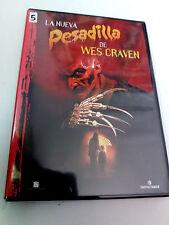 """DVD """"LA NUEVA PESADILLA DE WES CRAVEN"""" COMO NUEVA ROBERT ENGLUND"""