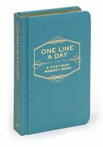 One Line A Day: A Five-Year Memory Book Diary Book The Cheap Fast Free Post