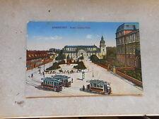 Erster Weltkrieg (1914-18) Ansichtskarten aus Deutschland für Architektur/Bauwerk und Straßenbahn
