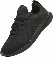 PAGBOJAS Men's Shoes Fabric Low Top Lace Up Running Sneaker, Black, Size 12.0 a6