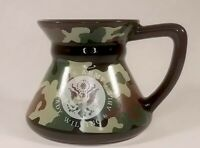 """US Army Coffee Mug In Camoflauge """"Ready, Willing & Able"""""""