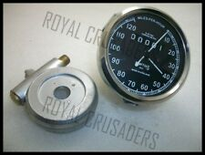 BRAND NEW ENFIELD REPLICA SMITH 0-120MHR SPEEDO WITH ALLOY HUB DRIVE @pummy