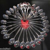 36 Bulk Value Teaspoon Set Tea spoons Stainless Steel Spoons Teaspoons STRONG