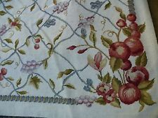 Stark Chantilly Rug Chinese 10 Mesh Needlepoint Rug 9x6 Msrp$2000+