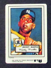 MICKEY MANTLE 1952 Topps Porcelain Card New York Yankees