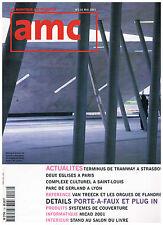 AMC n°116 2001 ZAHA HADID / GAUTRAND / CORAJOUD + PARIS POSTER GUIDE
