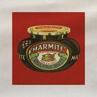 Marmite Rojo Retro - Panel De Tela Hacer Cojín Tapicería Manualidades Algodón