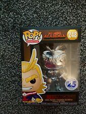 Funko Pop! My Hero Academia All Might Silver Chrome Funimation Exclusive 248...