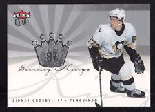 2005-06 ULTRA SCORING KINGS SIDNEY CROSBY  PITTSBURGH PENGUINS ROOKIE CARD MINT