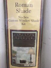 "June Tailor, No Sew Custom Window Roman Shade Kit (Up To 40"" X 72"")"
