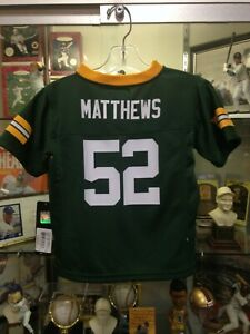Clay Matthews Packers Toddler 4T Replica Jersey NEW w/tags