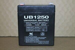 UB1250 12V 5Ah Universal Battery non spill sealed lead-acid w/.25 TAB Terminal