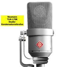 Neumann TLM-170R Studio Kondensatormikrofon Studio Mikrofone Mikrofon Microphone