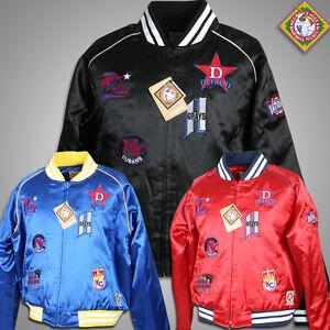 Negro League Commemorative satin jacket NLBM Women Sz S-2XL NWT