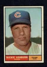 1961 Topps #88 Richie Ashburn EX/EX+ Cubs A1439