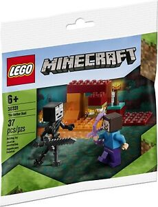 LEGO Minecraft Polybag -  The Nether Duel (w Steve and Wither Minifigures) 30331