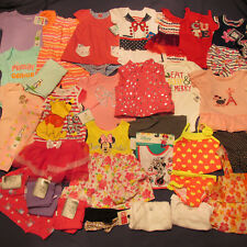 NWT Baby Girl 's Clothes Lot 0 3 6 9 12 m 33pc Winter Summer Swim Top Pants New