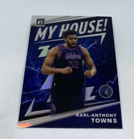 2019-20 Optic Karl-Anthony Towns Silver Prizm Holo MY HOUSE! Timberwolves #2