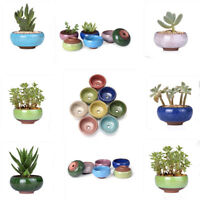small ceramic succulent plant pot flower planter garden shop decor cute hi