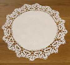 'Hook' Lace Doily Home Decor White 28cms BRAND NEW