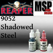 SHADOWED STEEL 9052 - MSP 15ml 1/2oz paint peinture figurine REAPER MINIATURE