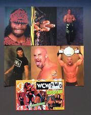 WCW NWO Wrestling Superstars 6 Photocards Goldberg Macho Man Randy Savage RARE