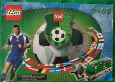 LEGO 3409 SOCCER CHAMPIONSHIP CHALLENGE WITH MANUAL NOT COMPLETE
