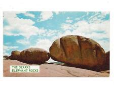 ELEPHANT ROCKS, CHROME, UNPOSTED, ARCADIA VALLEY, MO