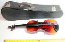 Vintage Antonius Stradivarius 1/2 violin with case!