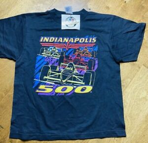 Indianapolis Motor Speedway Shirt Youth Large 14-16 Graphic New With Tags NWT