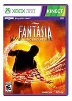 XBOX 360 GAME FANTASIA MUSIC EVOLVED BRAND NEW SEALED
