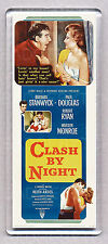 CLASH BY NIGHT movie poster LARGE 'WIDE' FRIDGE MAGNET - CLASSIC MARILYN MONROE