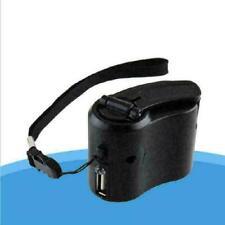 Portable Wind Up Hand Dynamo Crank Usb Pda For Mp3 Phone Cell Emerge U3P6 T4O8