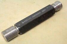 """C G & T Co 7/8"""" x 20 Tpi Whitworth Form GO NOGO Screw Thread Plug Gauge ME1215"""